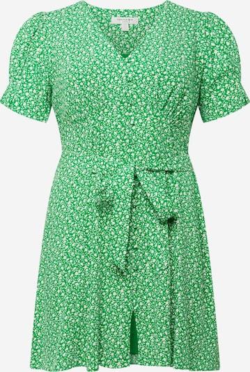 Forever New Curve Robe d'été 'Quinn' en citron vert / blanc, Vue avec produit