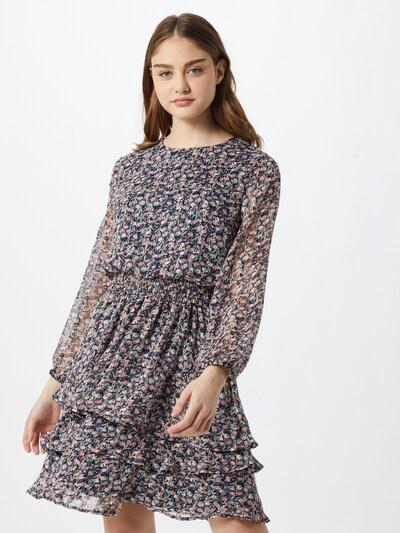 SISTERS POINT Kleid 'Nicoline' in navy / hellblau / lachs, Modelansicht