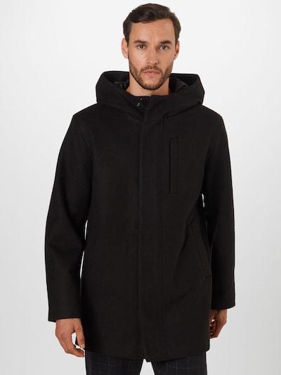 Palton de primăvară-toamnă 'GEORGE' JACK & JONES pe negru, Vizualizare model