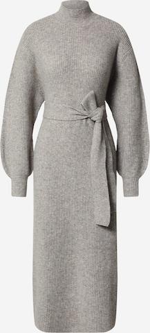 EDITED Knit dress 'Silvie' in Grey