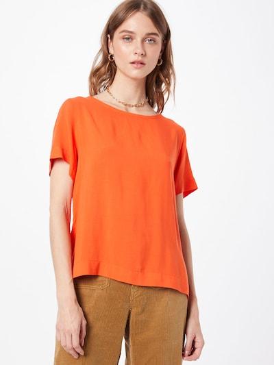 ICHI Bluse in orange, Modelansicht