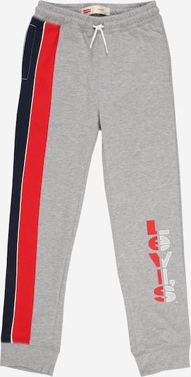 Pantaloni LEVI'S di colore blu notte / grigio sfumato / rosso: Vista frontale