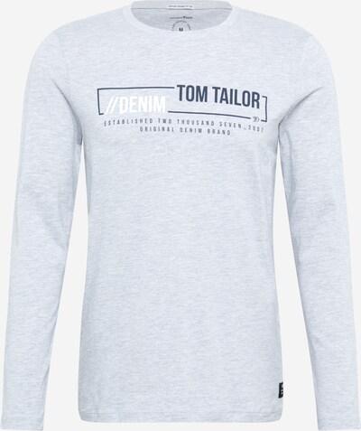 TOM TAILOR DENIM T-Shirt en marine / gris, Vue avec produit