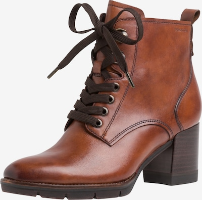 TAMARIS Lace-Up Ankle Boots in Auburn, Item view