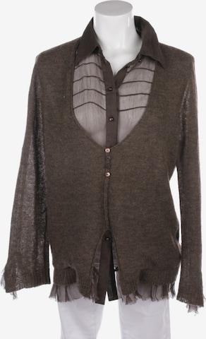 Luisa Cerano Sweater & Cardigan in XXL in Brown