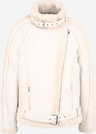 Demisezoninė striukė iš Missguided (Tall) , spalva - balta: Vaizdas iš priekio