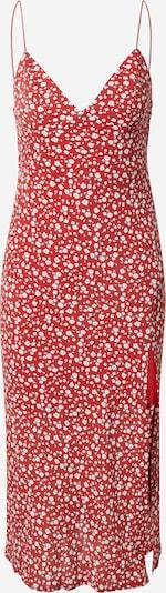 Rochie de vară Parallel Lines pe roșu / alb, Vizualizare produs