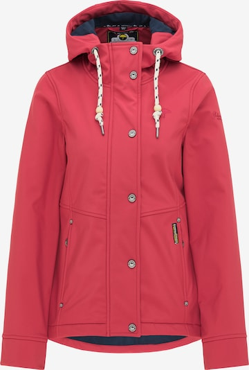 Schmuddelwedda Functionele jas in de kleur Framboos, Productweergave