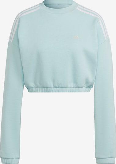 ADIDAS PERFORMANCE Sportsweatshirt in jade / weiß, Produktansicht