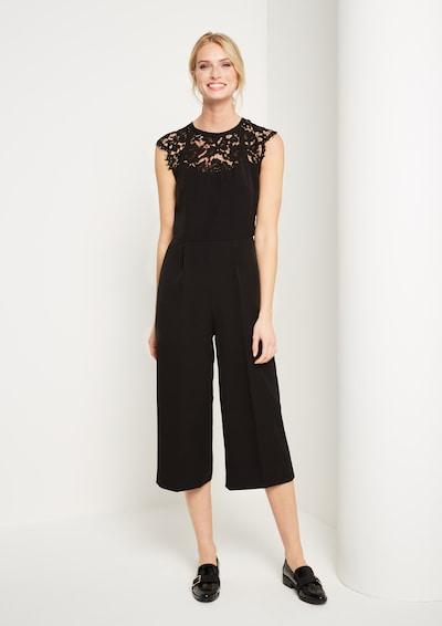 COMMA Jumpsuit in schwarz, Modelansicht