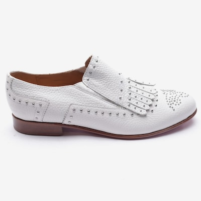 MELVIN & HAMILTON Flats & Loafers in 40 in White, Item view