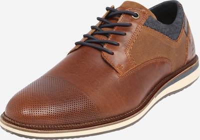 BULLBOXER Šnurovacie topánky - tmavomodrá / svetlohnedá, Produkt