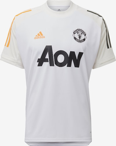 ADIDAS PERFORMANCE Functioneel shirt 'Manchester United' in de kleur Geel / Zwart / Wit, Productweergave