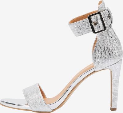 faina Sandalen met riem in de kleur Zilver, Productweergave