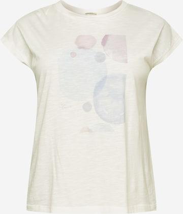 Esprit Curves Shirt in Weiß