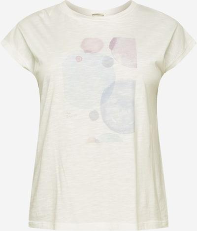 Tricou Esprit Curves pe opal / mov pastel / roz pastel / alb amestacat, Vizualizare produs