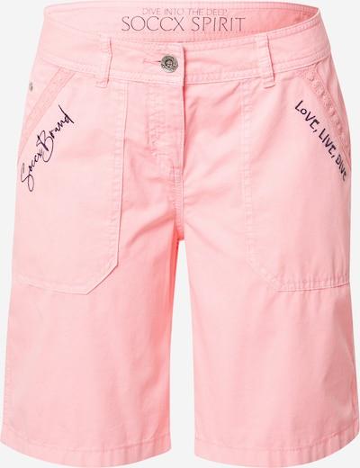 Soccx Shorts in dunkelblau / pink, Produktansicht