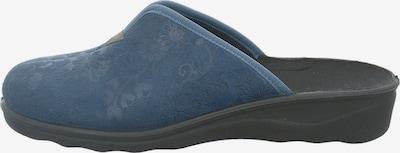 Westland Hausschuh 'Nice' in blau, Produktansicht