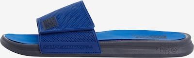 Superdry Strand-/badschoen 'Premium Crewe' in de kleur Hemelsblauw / Zwart, Productweergave