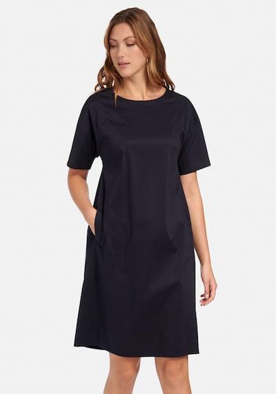 Emilia Lay Kleid mit 1/2-Arm in blau, Modelansicht