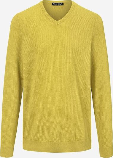 Louis Sayn Pullover V-Pullover in gelb, Produktansicht