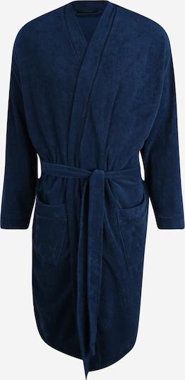 SCHIESSER Badjas kort in de kleur Donkerblauw, Productweergave