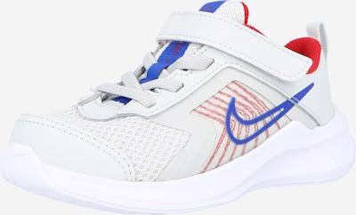 NIKE Sportschuh 'Downshifter 11' in blau / azur / rot / weiß, Produktansicht