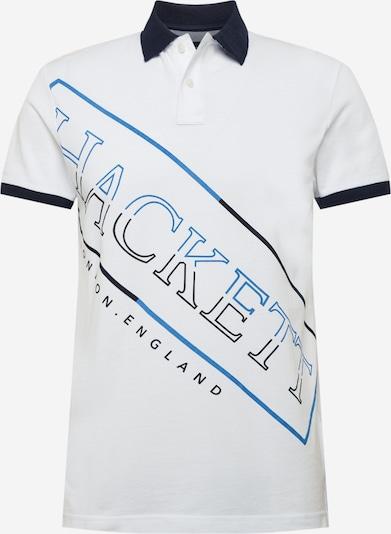 Hackett London Majica 'HACKETT' u sivkasto plava / noćno plava / prljavo bijela, Pregled proizvoda