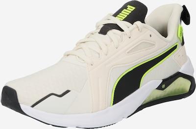 PUMA Športni čevelj | neonsko zelena / črna / jajčna lupina barva, Prikaz izdelka