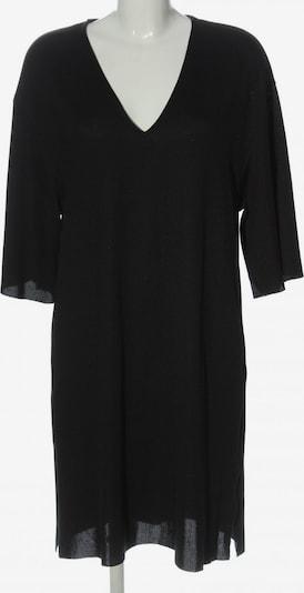 ZARA Strickkleid in M in schwarz, Produktansicht