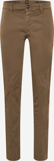 BOSS Casual Pantalon chino en kaki, Vue avec produit