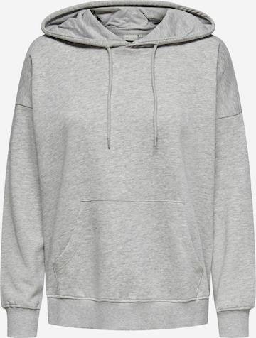 ONLY Sweatshirt 'Feel' in Grau