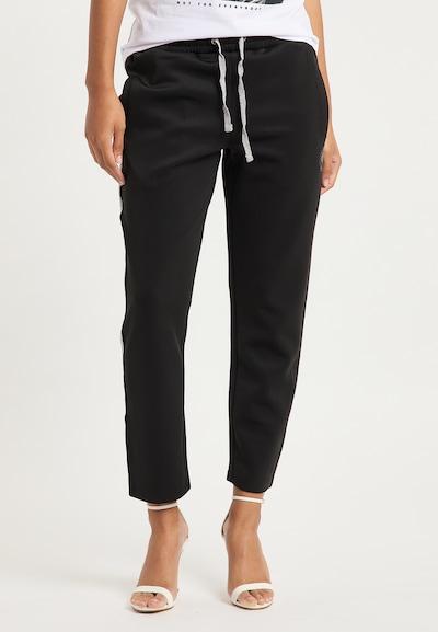 BRUNO BANANI Broek in de kleur Zwart, Modelweergave