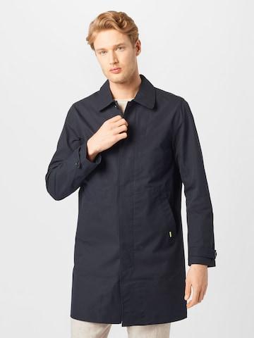 Manteau mi-saison Lindbergh en bleu