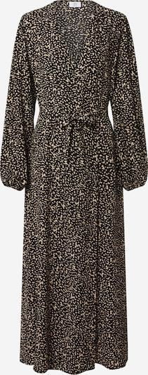 Kauf Dich Glücklich Robe-chemise en camel / noir, Vue avec produit