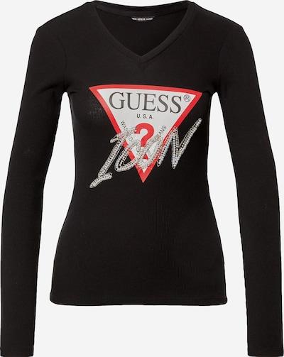 GUESS T-Shirt in mischfarben / schwarz, Produktansicht