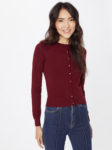 King Louie Knit Cardigan in Red