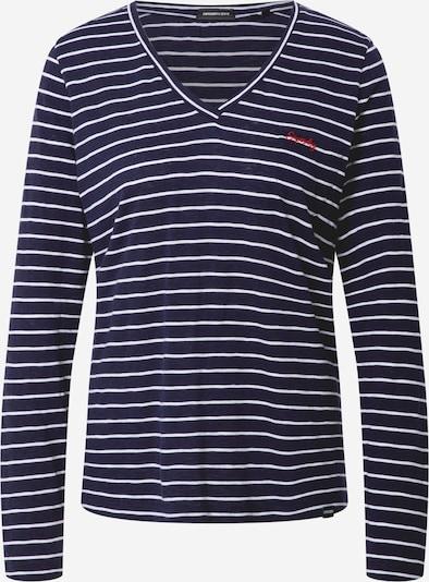 Superdry Sweatshirt in marine / weiß, Produktansicht