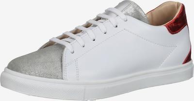 Gordon & Bros Sneaker in rot / silber / weiß, Produktansicht