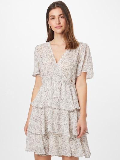 NA-KD Kleid in pink / naturweiß, Modelansicht