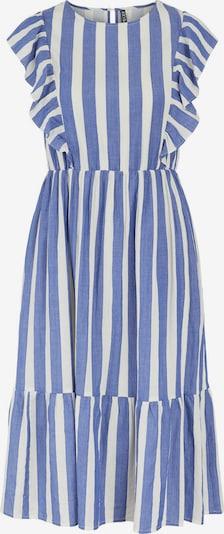 Pieces Maternity Kleid 'Tyla' in rauchblau / weiß, Produktansicht