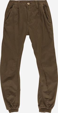 Pantalon Urban Classics Kids en vert