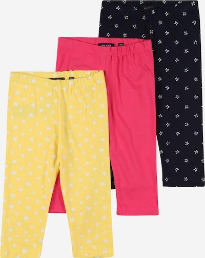 Leggings BLUE SEVEN di colore blu notte / giallo / rosa / bianco, Visualizzazione prodotti