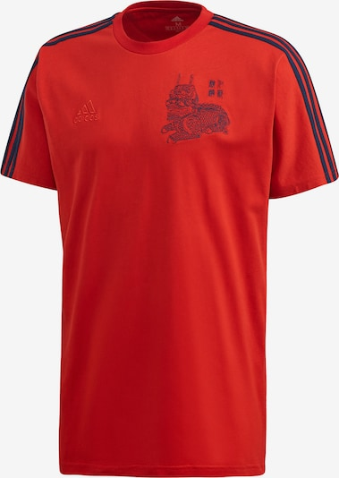 ADIDAS PERFORMANCE T-Shirt in rot: Frontalansicht