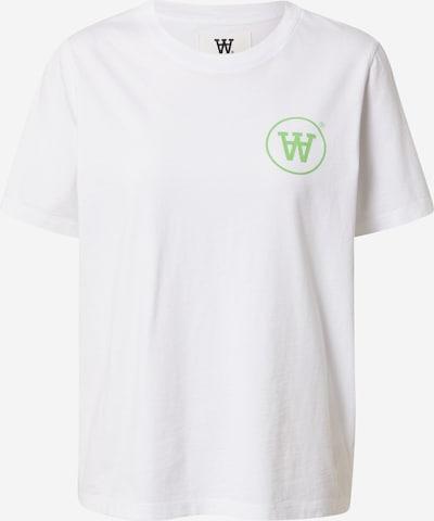 WOOD WOOD Shirt 'Mia' in hellgrün / weiß, Item view