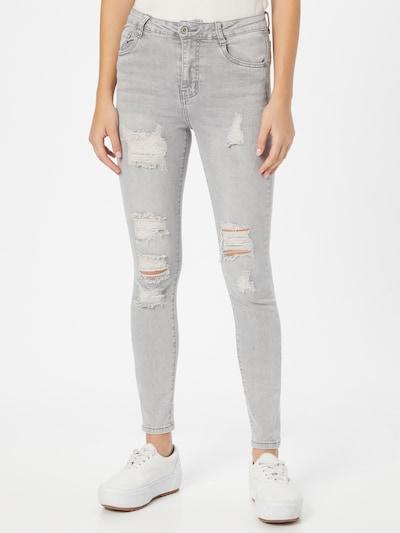 Hailys Jeans 'Lini' in grau, Modelansicht