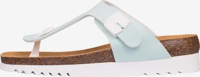 SCHOLL Zehentrenner  'Boa Vista Up' in mint / weiß, Produktansicht