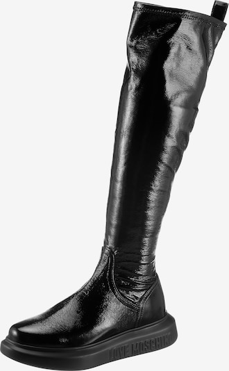 Love Moschino Boots in Black, Item view