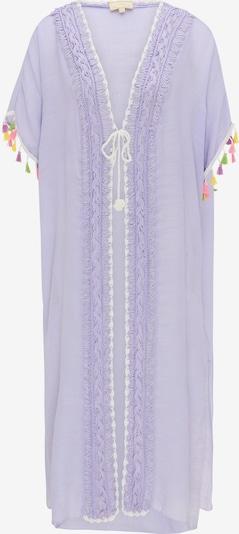 MYMO Kimono en violet clair / mélange de couleurs, Vue avec produit