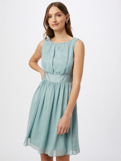 SWING Kleid in cyanblau, Modelansicht